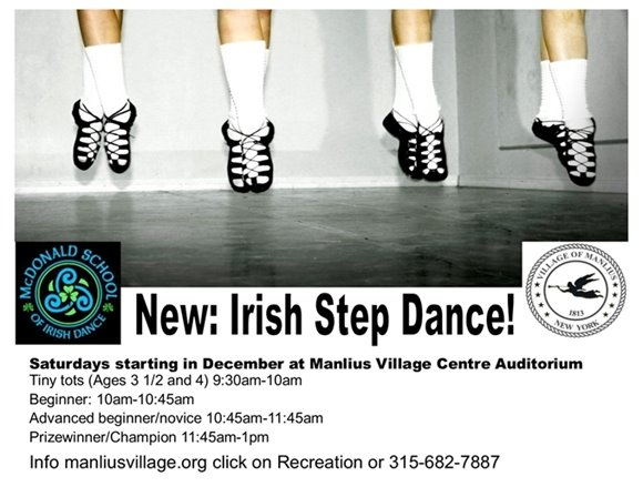 New: Irish Step Dance!